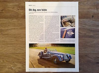 MORGAN 4/4 80th Anniversary Special Edition - Road Test Article