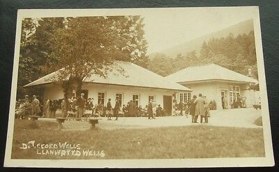Postcard : Real Photo, Dolecoed (Pump House) Llanwrtyd Wells, Wales  Posted 1931