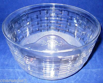 "Longaberger 8"" American Work Basket Plastic Protector #40466 - NEW"
