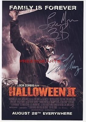 Halloween 2 signed movie poster priont