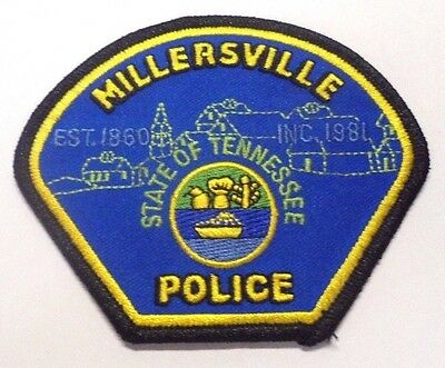 Millersville Tennessee Police Patch Unused