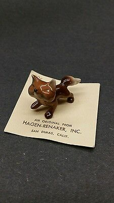 VTG. Hagen Renaker KOALA MAMA- miniature ceramic figurine # 950 ON CARD