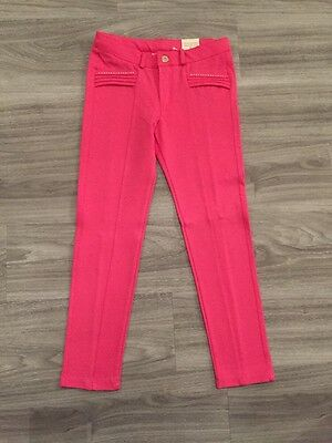 BNWT Girls Fuchsia Pink Mayoral Jeggings - Age 7 Years