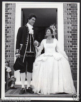 Barry Bostwick & Patty Duke Astin GEORGE WASHINGTON 1984 TV VINTAGE ORIG PHOTO