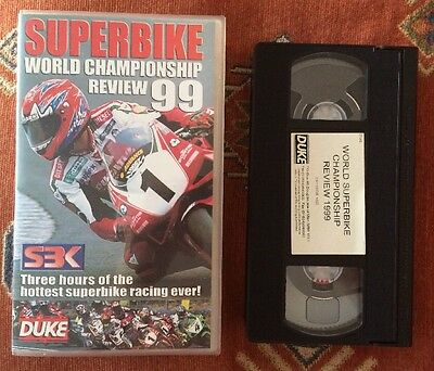 1999 WORLD SUPERBIKE REVIEW - Foggy On Form Again - VHS VIDEO