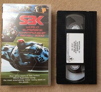 2000 WORLD SUPERBIKE REVIEW - Over 3 Hours Of Action - VHS VIDEO
