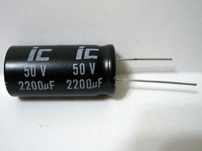 Axial Electrolytic 2.2UF to 2200UF 50V Illinois Capacitor *New Old Stock!*