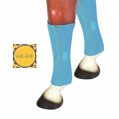 Gel-Eze Single Cold Leg Wrap or Anti Slip Saddle Pad - Blue