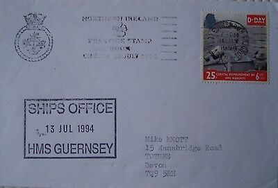 Forces Cover `HMS Guernsey` (July 1994)