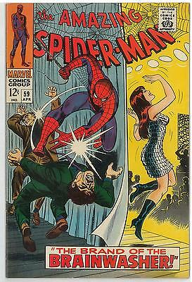 Amazing Spider-Man #59 NM 1st Mary Jane Cover