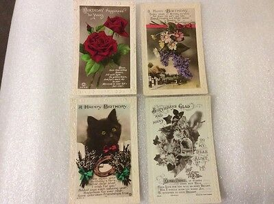 Greetings 4 Postcards. Please see photos for description.