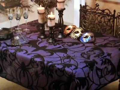"Bat Lace Table Cloth (84"" x 60"")"