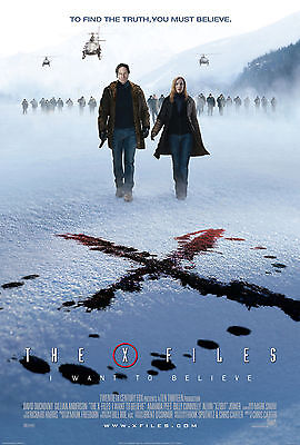 The X Files movie poster A4 Size