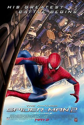 The Amazing Spiderman movie poster A4 Size