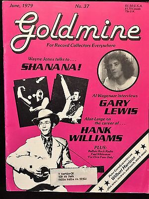 Goldmine For Record Collectors with Gary Lewis & Hank Williams June 1979 #37