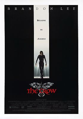 The Crow movie poster A4 Size