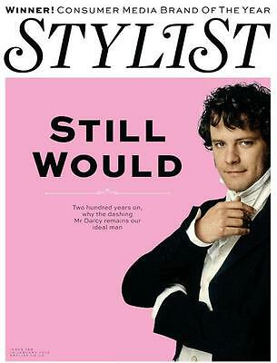 COLIN FIRTH - MR DARCY - Pride And Prejudice - HOT - NEW UK COVER STYLIST MAG
