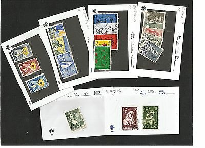 H45) Netherlands Mint+Used Stock On 102 Cards