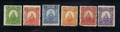 Honduras 6 MNG stamps ( 2 stamps has corner missing see scan)