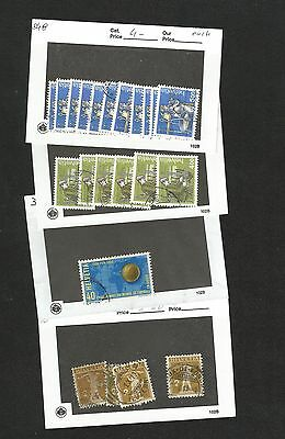 H47) Switzerland Mint+Used Stock On 102 Card