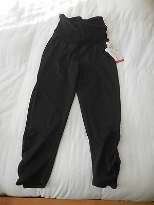 NWT Oh Baby by Motherhood Maternity Bump Style Rouched  Leggings  Sz. M  NEW
