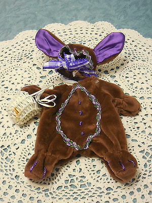 Hoppy  Vanderhare Outfit  Cocoa Bunny   #4463     1996  NEW