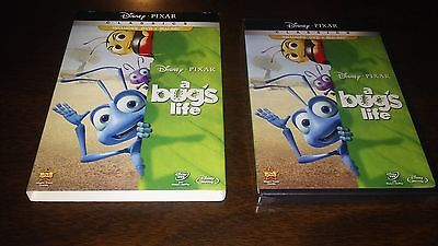 DISNEY PIXER CLASSIC BUG'S LIFE DVD+BLU-RAY, 2-DISC COMPO PACK NEW with SLIPCASE