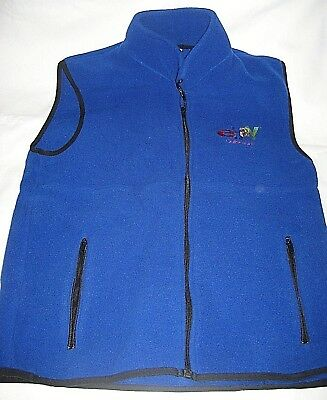 2001 eBay Collectibles Fleece Vest--Xmas Gift Top Sellers--RARE-Size XL-New
