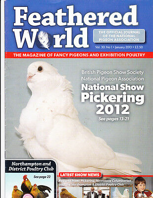 Feathered World~ Pigeon & Poultry~The Queen Visits A Show~5 Great Issues~British