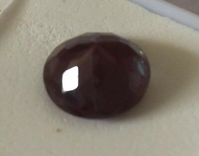Fauceted Loose Russian Lab Alexandrite Gemstone  6.30 ct 12mm round jewely tv
