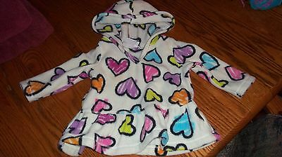 Children's Place Print Top Infant Baby 6-9 Months Fleece Hooded