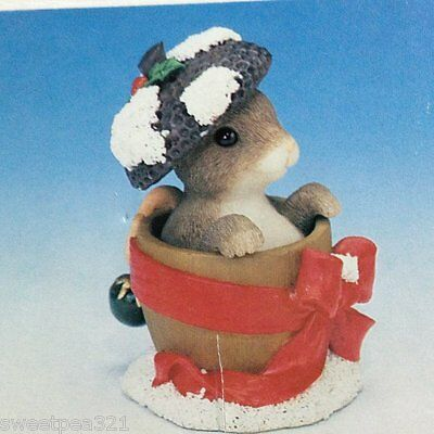 Charming Tails Holly Day Dreams (Mouse)