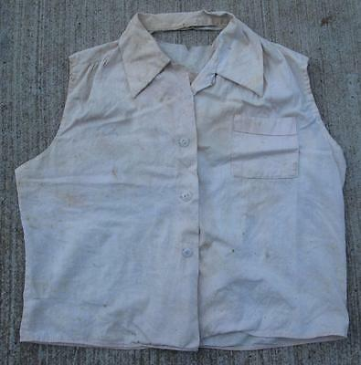 1930's - 40's DESTROYED FARM WORK SHIRT