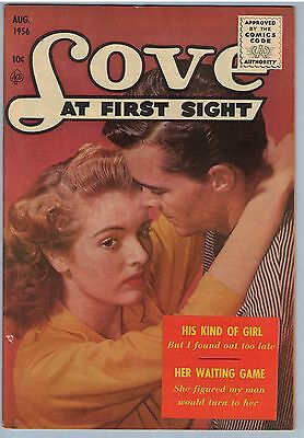Love at First Sight 42 Aug 1956 VF- (7.5)