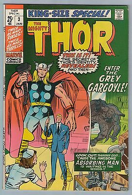 Thor King-Size Special 3 Jan 1971 VF (8.0)