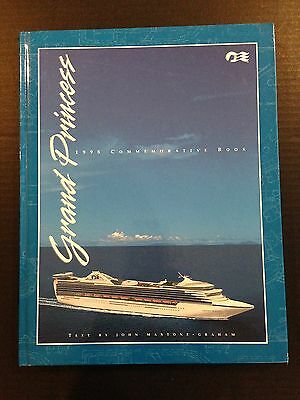 Grand Princess 1998 Commemorative Book Souvenir Book Inaugural Cruise