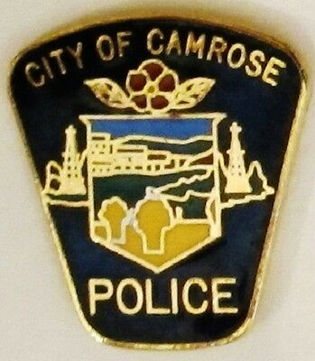 City of Camrose Police - Alberta - Canada - Old Patch Style Pin