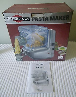 Electric CookWell Pasta Maker Pick up From Tweed or Post. Used Once.