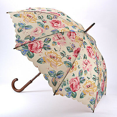 Cath Kidston Kensington Walking Umbrella - Rose Taupe