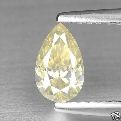 0.50 Cts UNTREATED GREENISH YELLOW COLOR NATURAL LOOSE DIAMONDS- SI1