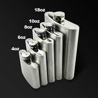 Whiskey Pocket Hip Flask Wine Liquor Wedding Party Drink Bottle Cap Gift Cheaply