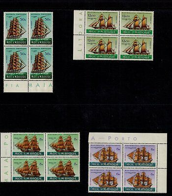 Mozambique Stamps/ Beautiful 1963 Blocks Mint/exc. Gum/not Hinged. 1963 Issue.