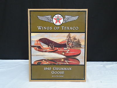 ERTL Wings of Texaco 1940 Grumman Goose 4th in the Series Coin Bank (500)