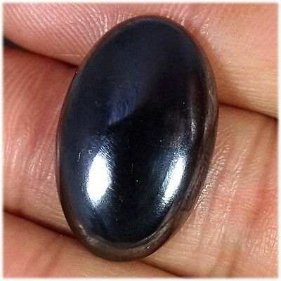 33.10Cts. 100% NATURAL HEMATITE OVAL CABOCHON LOOSE UNTREATED GEMSTONES