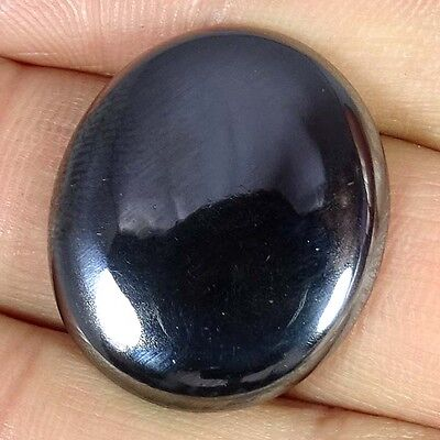 36.40Cts. 100% NATURAL HEMATITE OVAL CABOCHON LOOSE TOP QUALITY GEMSTONES