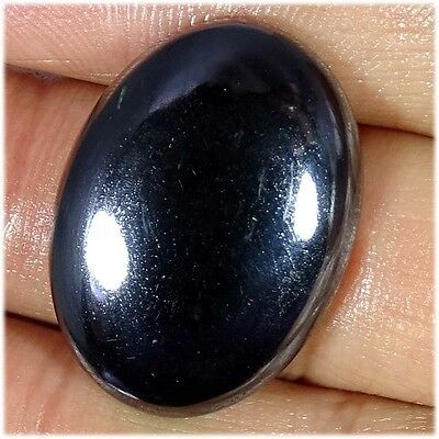 45.70Cts.100%  NATURAL HEMATITE OVAL CABOCHON AWESOME LOOSE GEMSTONES