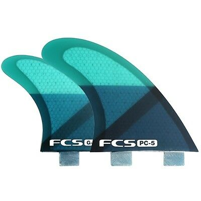 FCS PC5 Performance Core Quad Surfboard Fins NEW