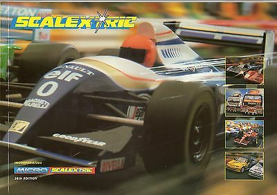 Scalextric 1997 Catalogue - Edition 38