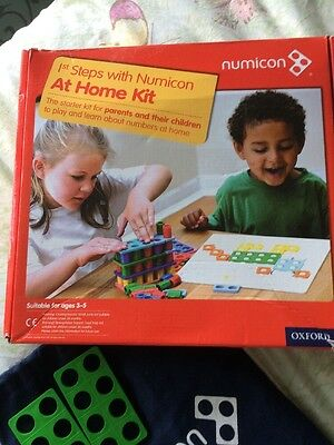 numicon at home kit with box and instructions