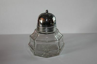 Vintage Glass icing sugar shaker